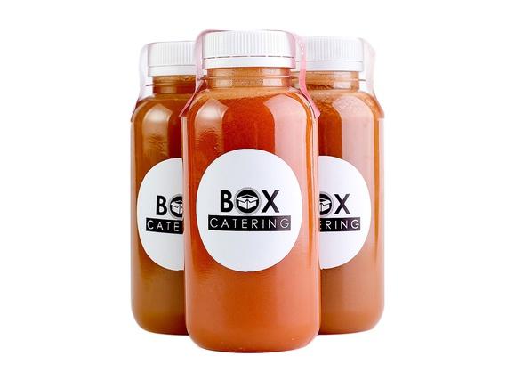 Фреш микс - яблоки, морковь и сельдерей 500 мл.