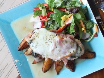 Chicken breast Saltimbocca