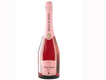 Bacio di bolle pink moscato
