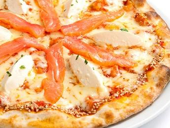 Pizza Al salmone (30cm)