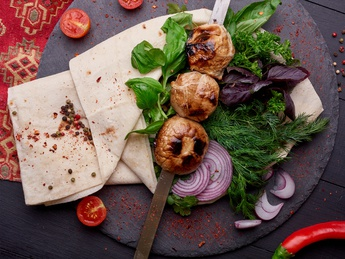 Mushrooms on grabber (wet weight)
