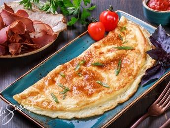 Omletă din două ouă
