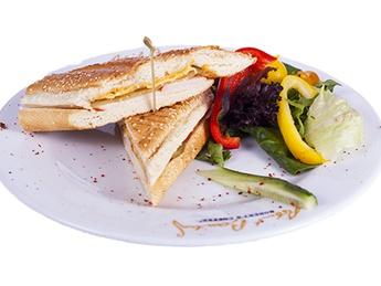 Sandwich с запеченной курицей