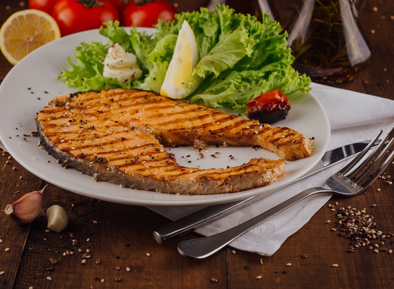 Baked Salmon (weight product)
