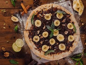 Пицца nutella