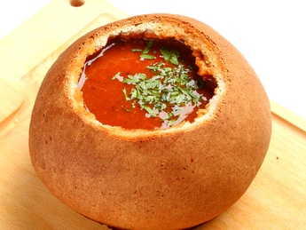 Beer goulash soup