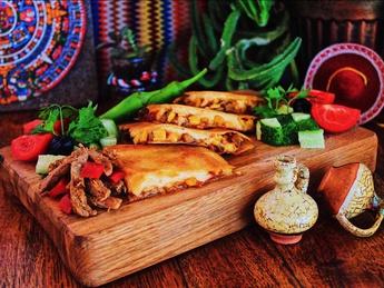 Quesadillas with chicken