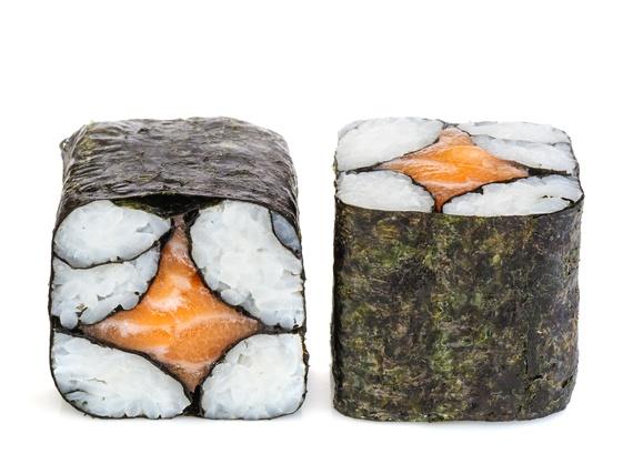 Sake chef maki roll