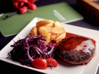 Hamberger steak