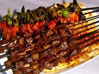 Ciğer Kebap / Shish kebab from the liver of lamb