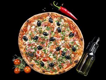Pizza Pancetta