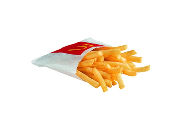 French fries small portion