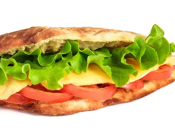 Yammi sandwich with cheese