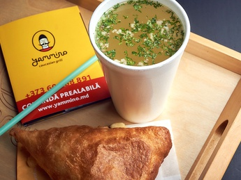 Set Hachapuri + Chito soup