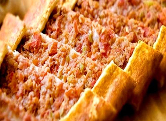 Pită cu carne tocată de vită