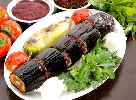 Kebab cu vinete