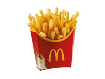 French fries medium portion