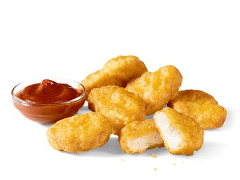 6 штук  McNuggets
