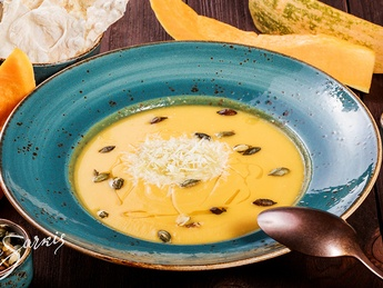 Supă-cremă de dovleac