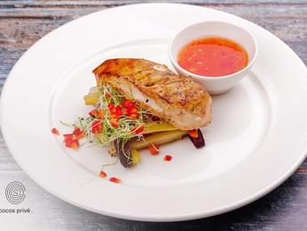 Chicken steak with crispy Vegetables