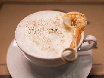 Prawn cappuccino