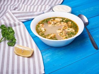 Supă de somon
