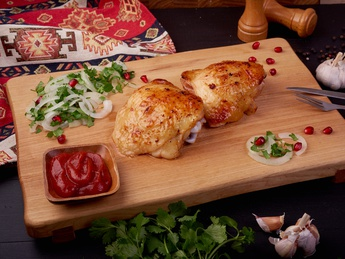 Chicken thighs (wet weight)
