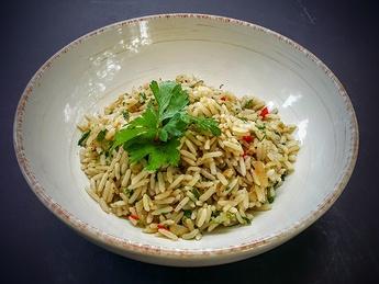 Рис с травами и специями