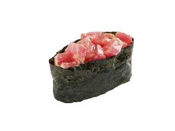 Gunkan spicy maguro