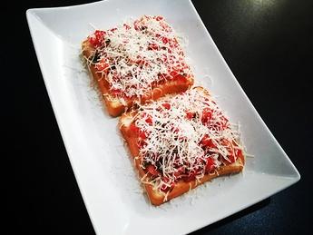 Brushetta with tomatoes
