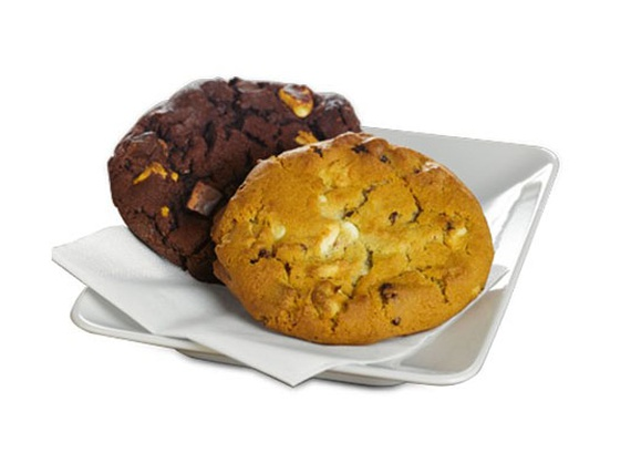 Cookies with butter and chocolate
