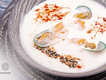 COCOS soup with seaproducts
