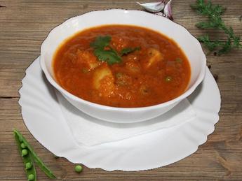Aaloo matar curry