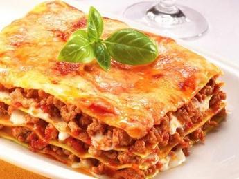 Lasagne with chicken