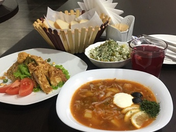 Business lunch - Wednesday