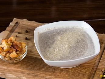 Суп крем грибной