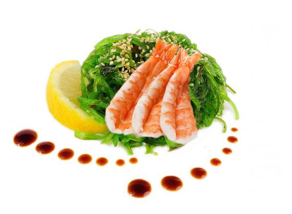 Salată Chuka Ebi