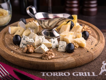 Noble cheese board