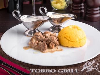 Tocana with pork