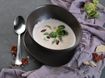 Крем-суп из фасолью
