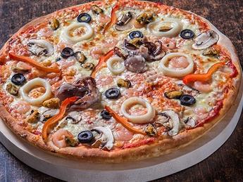 Pizza Frutti di mare large