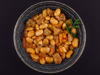 White Beans with lamb