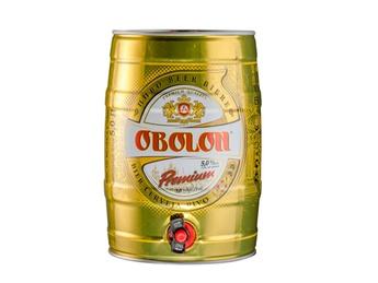 Light filtered Obolon Premium
