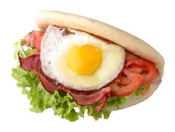Bao Egg & Bacon