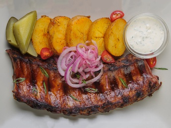 Pork rib As in Vienna