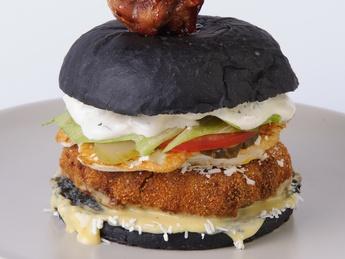 Burger Black chicken