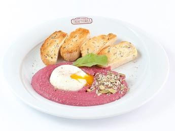 Hummus rossa con Benedetto