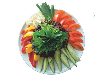 Moldovan assorted vegetable Platter