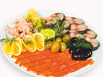 Assorted fish platter