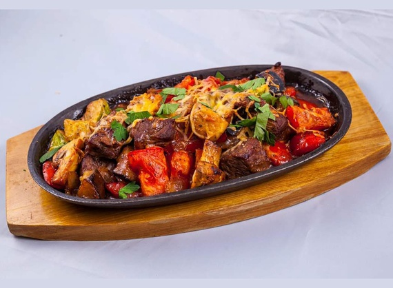 Beef with vegetables